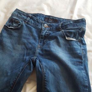 Zara 34 Low Rise Skinny Fit Jeans
